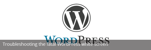 WordPress white screen
